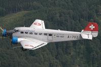 HB-HOT @ AIR TO AIR - Ju Air Junkers Ju52 - by Dietmar Schreiber - VAP