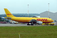 OO-DIJ @ EGNX - DHL A300F at East Midlands UK