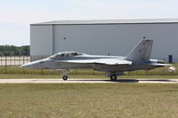 165877 @ TVC - VFA-122, NAS Lemoore, Taxi For Departure RWY 28 - by Mel II