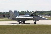 165877 @ TVC - VFA-122, NAS Lemoore, Taxi To USCG Hangar - by Mel II