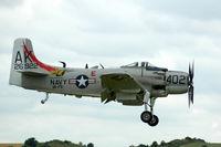 G-RADR @ EGSU - 4. G-RADR at Duxford Flying Legends Air Show July 09 - by Eric.Fishwick