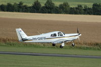 PH-GWW @ EGSU - PH-GWW departing Duxford Airport