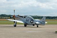 F-AZSB @ EGSU - 1. 'Nooky Booky IV' at Duxford Flying Legends Air Show July 09 - by Eric.Fishwick