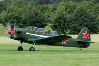 OO-IAK @ EBDT - This Chinese built Yak-18 was at the 2008 old timer fly in at Schaffen.