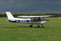 G-BIDH @ EGNY - Cessna 152 at Beverley - by Terry Fletcher