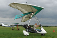 G-MZGG @ EGNY - Quantam being positioned on the field at Beverley