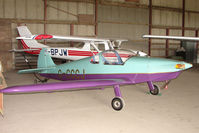 G-CCCJ @ EGNY - Hangared aircraft at Beverley