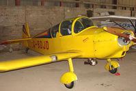 G-BDJD @ EGNY - Hangared aircraft at Beverley