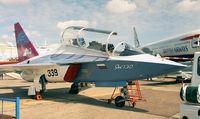 RA-43130 @ LFPB - Yakovlev Yak-130 MITTEN Prototype at the Aerosalon Paris 1997