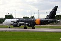 G-ZAPU @ EGCC - Titan Airways - by Chris Hall