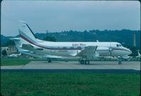 N300SB @ KLUK - Gibbs West Gulfstream I - by Charlie Pyles