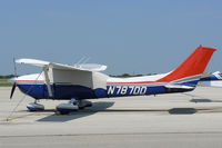 N787DD @ DTO - At Denton Municipal - Looks like Civil Air Patrol paint to me...does not show to be registered to CAP.