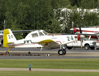 C-GJJX @ CYZH - Slave Lake Air Tanker base - by William Heather