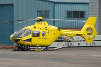 G-SPHU @ EGBJ - Eurocopter EC135T2 at Gloucestershire (Staverton) Airport