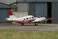 G-DSID @ EGBJ - Piper Seneca at Gloucestershire (Staverton) Airport