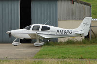 N139PG @ EGBJ - Cirrus SR20 at Gloucestershire (Staverton) Airport