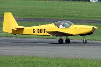 G-BKIF @ EGBJ - Fournier RF6B at Gloucestershire (Staverton) Airport