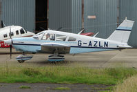 G-AZLN @ EGBJ - Piper  at Gloucestershire (Staverton) Airport