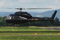 G-LENI @ EGBJ - Aerospatiale AS355F1 at Gloucestershire (Staverton) Airport
