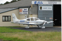 N89GH @ EGBJ - Cirrus SR22 on maintenance  at Gloucestershire (Staverton) Airport
