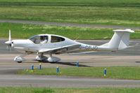 G-CFJO @ EGBJ - Diamondstar DA40 on training flight from Coventry - at Gloucestershire (Staverton) Airport