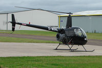 G-WIRL @ EGBJ - Robinson R22 at Gloucestershire (Staverton) Airport
