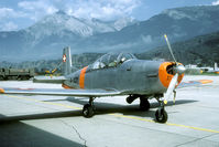 A-831 @ LSMS - Good old piston powered Pilatus P-3. - by Joop de Groot