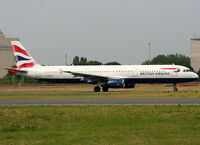 G-EUXH @ LFPG - Taxiing on parallels runways... - by Shunn311