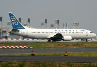 SX-BKH @ LFPG - Taxiing for departure... - by Shunn311