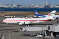 A6-YAS @ RJTT - Abu Dahbi Amiri Flight - by J.Suzuki
