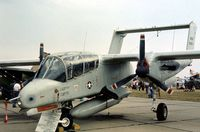 68-3816 @ MHZ - Another view of the 601 TCW OV-10A Bronco at the 1976 Mildenhall Air Fete. - by Peter Nicholson
