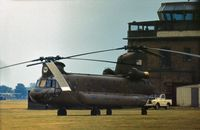 68-15863 @ MHZ - CH-47C Chinook of the US Army's 180th Aviation Company at the 1976 Mildenhall Air Fete. - by Peter Nicholson