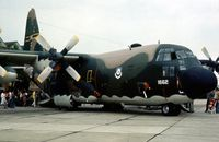 74-1662 @ MHZ - C-130H Hercules of 773rd Tactical Airlift Squadron/463rd Tactical Airlift Wing at the 1976 Mildenhall Air Fete. - by Peter Nicholson