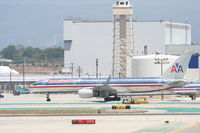 N193AN @ KLAX - American Airlines 757-223, N193AN, taxiway CHARLIE KLAX - by Mark Kalfas