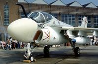 158533 @ MHZ - Another view of VA-176's Intruder on display at the 1976 Mildenhall Air Fete. - by Peter Nicholson