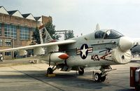 159977 @ MHZ - Another view of VA-87's Corsair on display at the 1976 Mildenhall Air Fete. - by Peter Nicholson