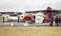 D-IBUF @ EGLF - Dornier Do 28 Turbo Skyservant at Farnborough International 1980