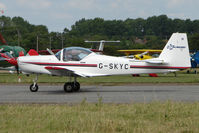 G-SKYC @ EGSF - Slingsby T67M competing in the 2009 Mazda Aerobatic Championships held at Peterborough Conington
