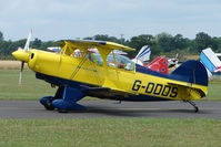 G-ODDS @ EGSF - Pitts S-2A competing in the 2009 Mazda Aerobatic Championships held at Peterborough Conington