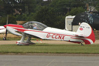 G-CCNX @ EGSF - CAP 10B competing in the 2009 Mazda Aerobatic Championships held at Peterborough Conington