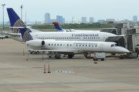N284SK @ DFW - Continental Express at the gate -DFW - by Zane Adams