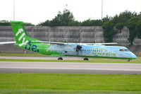 G-JEDP @ EGCC - flybe - by Chris Hall