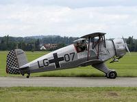 D-EMKP @ LOLW - Bücker Jungmeister in Luftwaffe colors - by P. Radosta - www.austrianwings.info