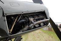 OE-AKA @ LOLW - Engine of the Fieseler Storch - by P. Radosta - www.austrianwings.info