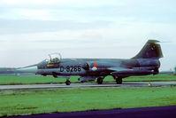 D-8266 @ EHVK - In 1981 Volkel was still an all Starfighter base. - by Joop de Groot