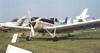 YR-MGF @ EGLF - IAR IAR-827A at Farnborough International 1982