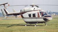 D-HBKC @ EGLF - MBB-Kawasaki BK-117A-1 at Farnborough International 1982