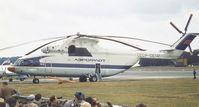 CCCP-06141 @ EGLF - Mil Mi-26 at Farnborough International 1984 - by Ingo Warnecke