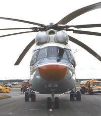 CCCP-06141 @ EGLF - Mil Mi-26 HALO at Farnborough International 1984 - by Ingo Warnecke