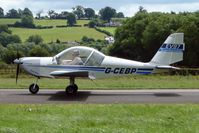 G-CEBP @ EGCW - Eurostar visitor on 2009 Welshpool Air Day